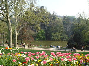 Park Buttes Chaumont, Paris