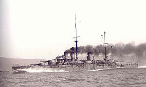 French battleship Paris - Image: Paris 1914 Marius Bar