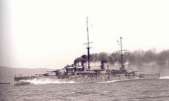 French battleship Paris - Image: Paris 1914 Marius Bar