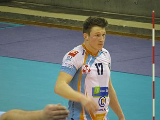 Seppe Baetens - Image: Paris Volley Nantes Rézé VB, Championnat de France 23 February 2017 39