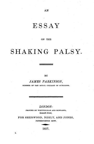 disease essay parkinsons
