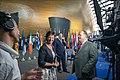 Parliament elects Ursula von der Leyen as first female Commission President (48308186416).jpg