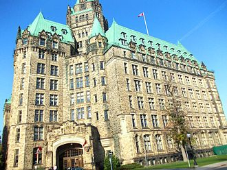 Confederation Building (Ottawa) - Confederation Building