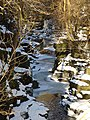 Part frozen river - geograph.org.uk - 1159407.jpg