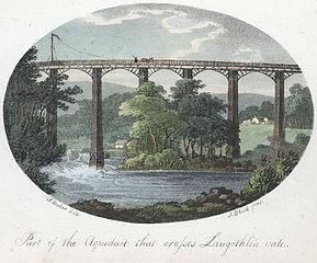 Part of the Aqueduct that crosses Langothlin vale