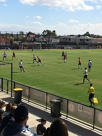Pascoe Vale FC - Pascoe Vale vs South Hobart in a friendly at CB Smith Reserve on 17 December 2016