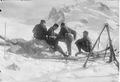Patrouille auf Skiern auf dem Gornergrat - CH-BAR - 3237134.tif