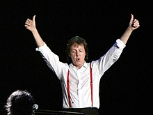 Paul McCartney, 2008.