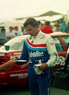 Paul Radisich New Zealand racing driver