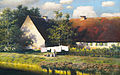 Paul Wilhelm Keller-Reutlingen Sommeridyll am Bauernhof.jpg