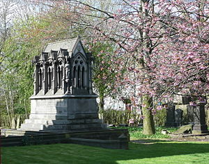 Gorton - Peacock Mausoleum located at Brookfield Unitarian Church, Gorton