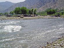 Asian river ame darya