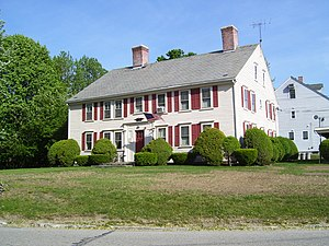 North Smithfield, Rhode Island - The Peleg Arnold Tavern, built around 1690, was home to Peleg Arnold.