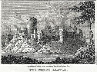 Pembroke Castle: south Wales