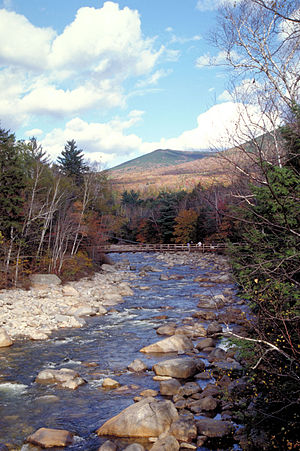 Pemigewasset Wilderness - The East Branch of the Pemigewasset River drains the Pemigewasset Wilderness and provides its name.