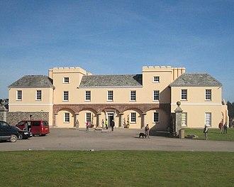 Pentillie - Image: Pentillie Castle geograph.org.uk 1205418
