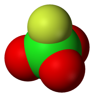 Perchloryl fluoride - Image: Perchloryl fluoride 3D vd W