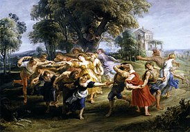 Peter Paul Rubens - Dance of Italian Villagers - WGA20409.jpg