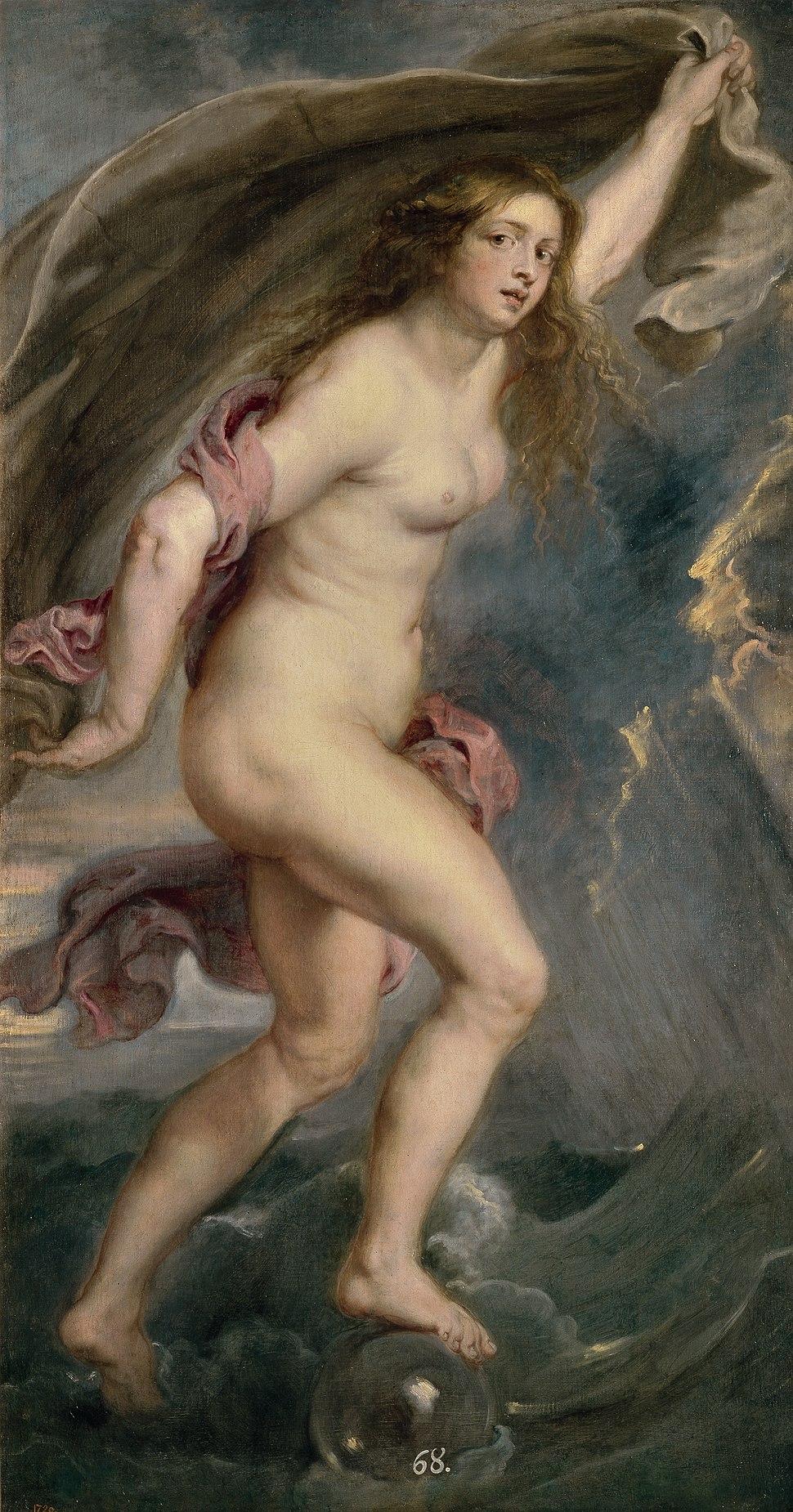 Peter Paul Rubens - Fortuna, 1638