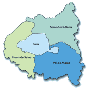 Hauts-de-Seine - Image: Petite couronne