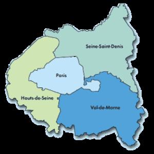Seine (department) - Image: Petite couronne
