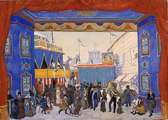 Petrushka (ballet) - The Shrovetide Fair by Benois