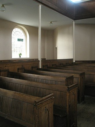 St John the Evangelist's Church, Chichester - There are ground-floor pews and more in the galleries above.