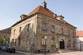 Phalsbourg - Town hall of Phalsbourg, former Corps de Garde