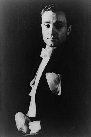 Philip Johnson - Carl Van Vechten (1880-1964)/LOC cph.3c27285. Philip Johnson, January 18, 1933