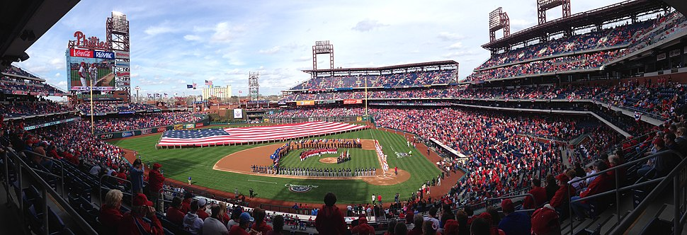Phillies 2014 Opening Day Citizens Bank Park Panorama