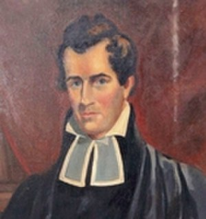 University of Nashville - Reverend Philip Lindsley, the founding president of the University of Nashville.