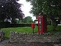 Phone box and post box - geograph.org.uk - 821166.jpg