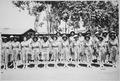Photograph of Lester A. Walton, Envoy Extraordinary and Minister Plenipotentiary to Liberia, with U.S. Army Women, ca. 1 - NARA - 535837.tif
