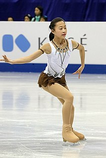 Li Xiangning Chinese figure skater