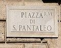 Piazza di San Pantaleo in Rome.jpg
