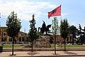Piazza skanderberg, tirana, monumento a skanderberg 01.JPG