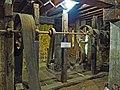 Pickwick Mill interior 08–line shaft from turbine.jpg