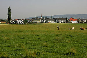 Ettiswil - Ettiswil from a nearby field