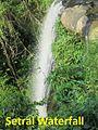 Picturesque Setrai Waterfall.JPG