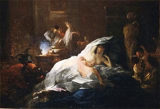 Louis Cretey French painter