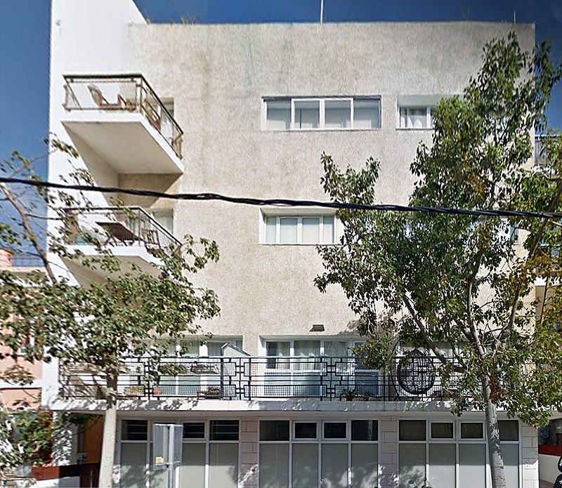הבית ברחוב לילינבלום 15 בתל אביב