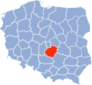 Piotrków Voivodeship - Piotrków Voivodeship