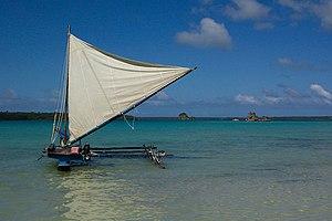 Piroque Île des Pins