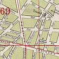 Plan de la deuxième et finale configuration urbaine pour le quartier Ma Campagne, Bruxelles (1910).jpg