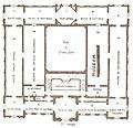 Plan du musée de Picardie, premier étage (avant 1978).jpg