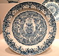 Plate, 1727, Delft, Netherlands, tin-glazed earthenware - Art Institute of Chicago - DSC09994.JPG