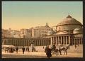 Plaza and church of San Francesco di Paola, Naples, Italy-LCCN2001700916.tif