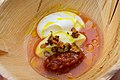 Plum Dumpling with Mascarpone (Innio Restaurant & Bar) (28345306068).jpg