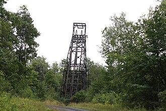 Gogebic Range - Plummer Mine Headframe in Iron County Wisconsin
