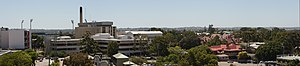 Princess Margaret Hospital for Children - PMH viewed from the east